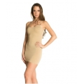 Lingerie correctrice - Robe moulante beige (taille L)