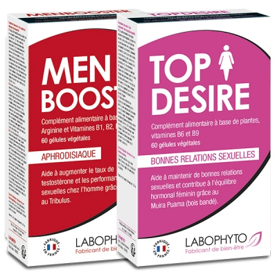 Boosters de libido - Pack Booster de libido en couple