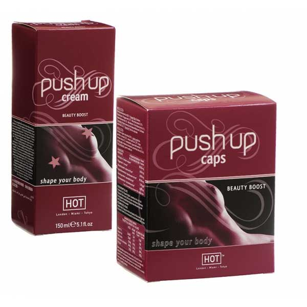 Pilules volume poitrine - Pack Duo Push Up