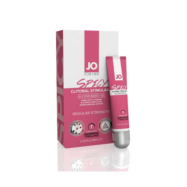 Crèmes d'excitation - System JO Clitoral Spicy Gel (10 ml)